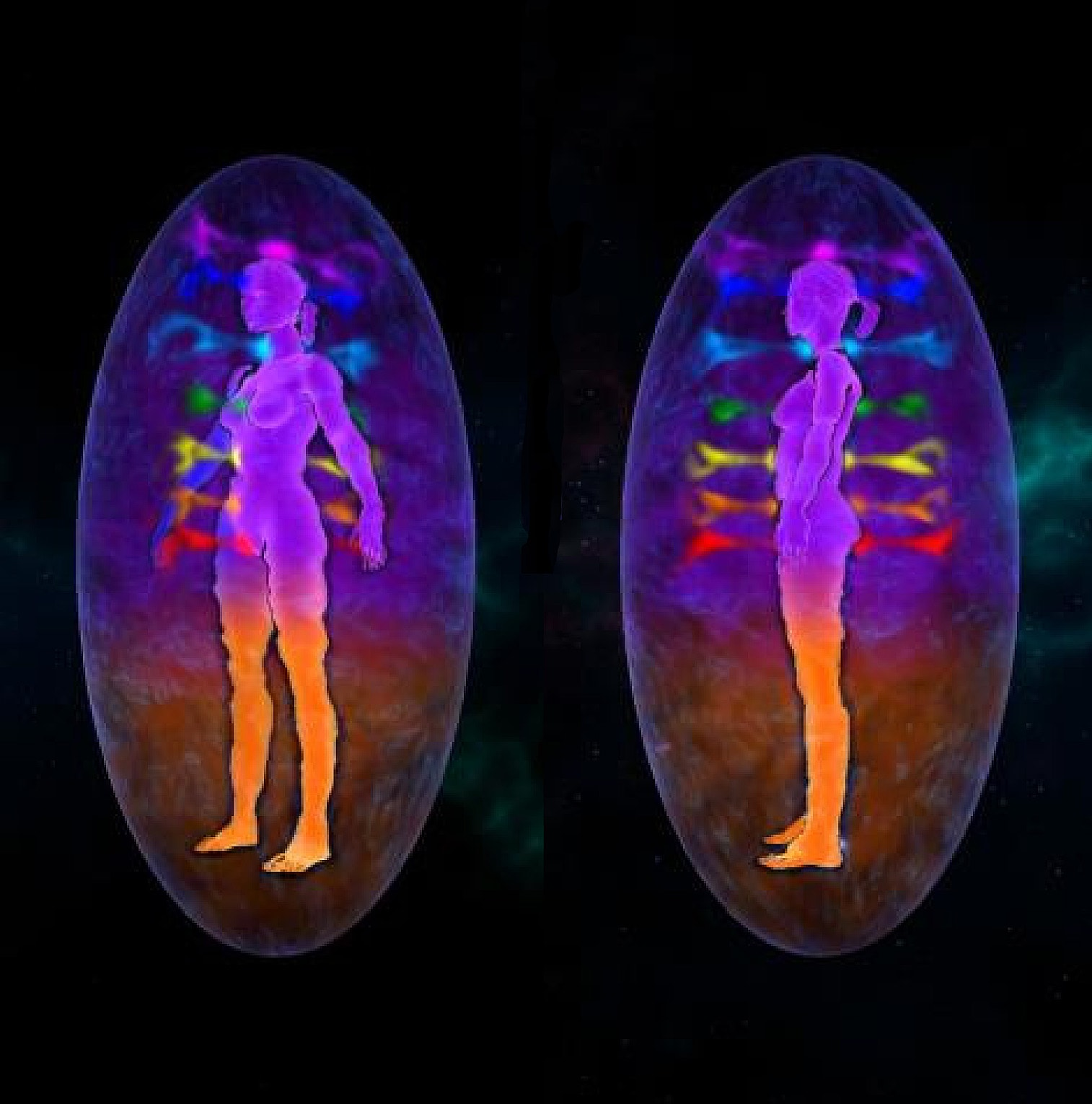 chakras and aura differences