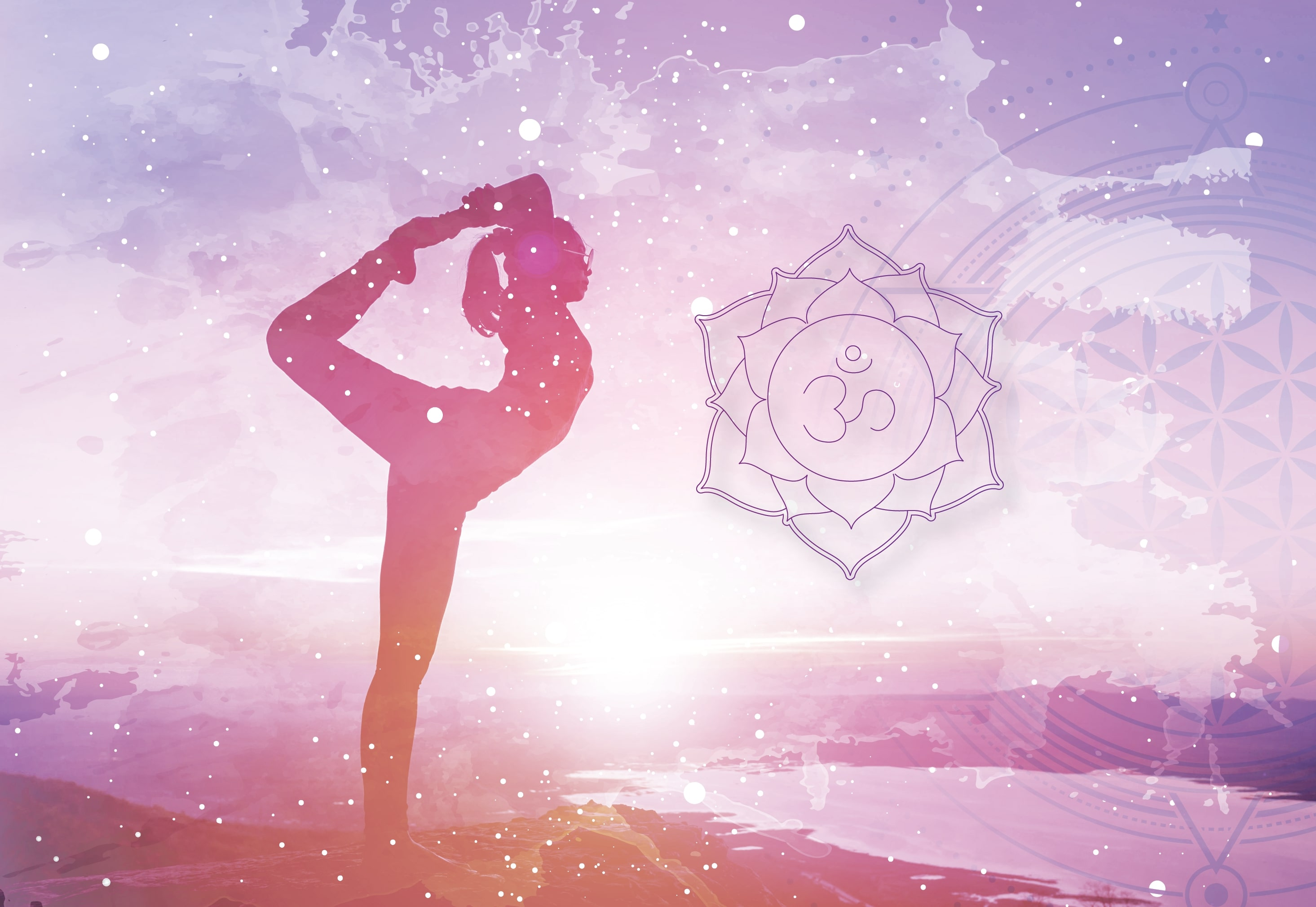 Chakra Crown Extra Yoga Illustration-01