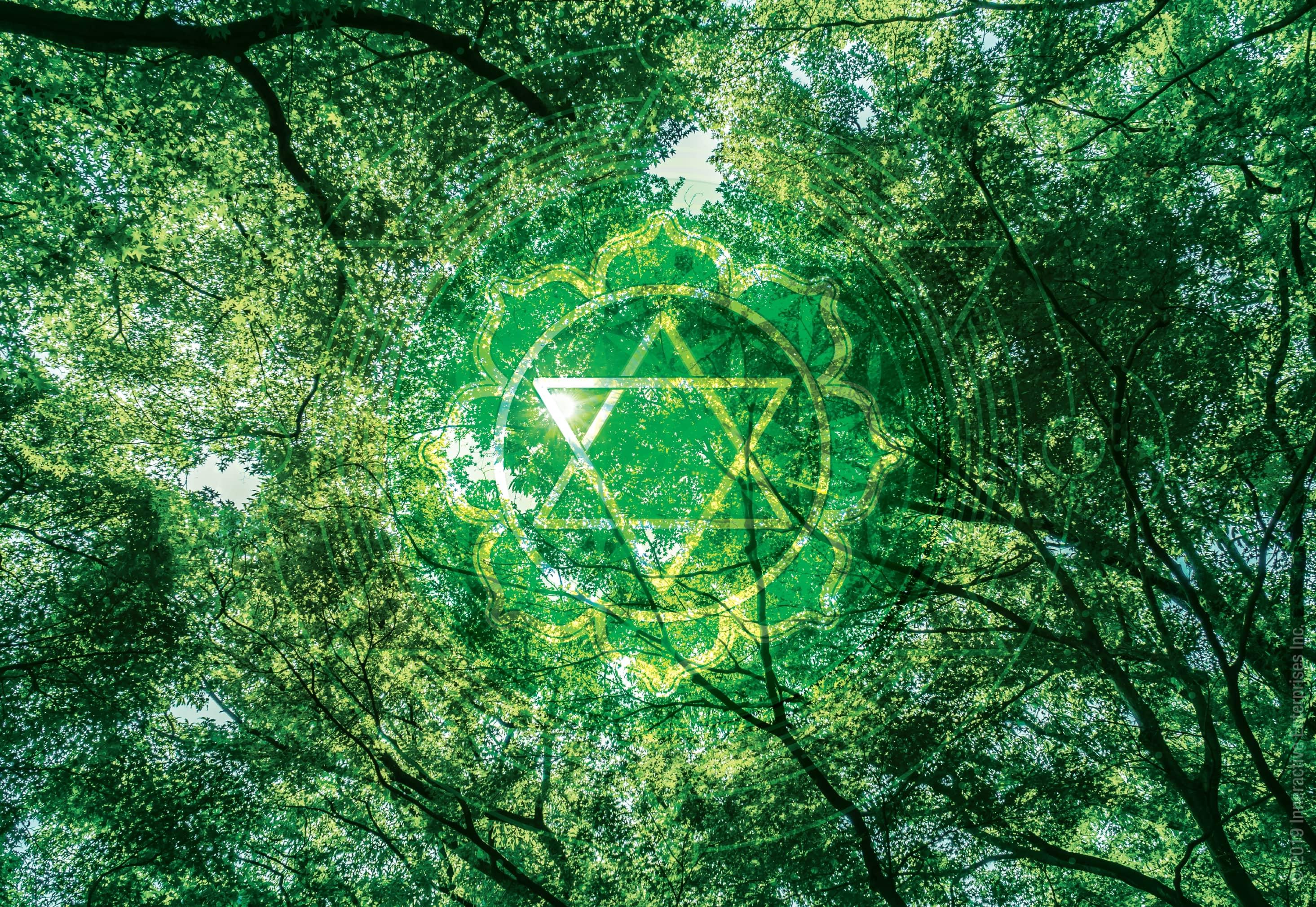 Heart chakra nature