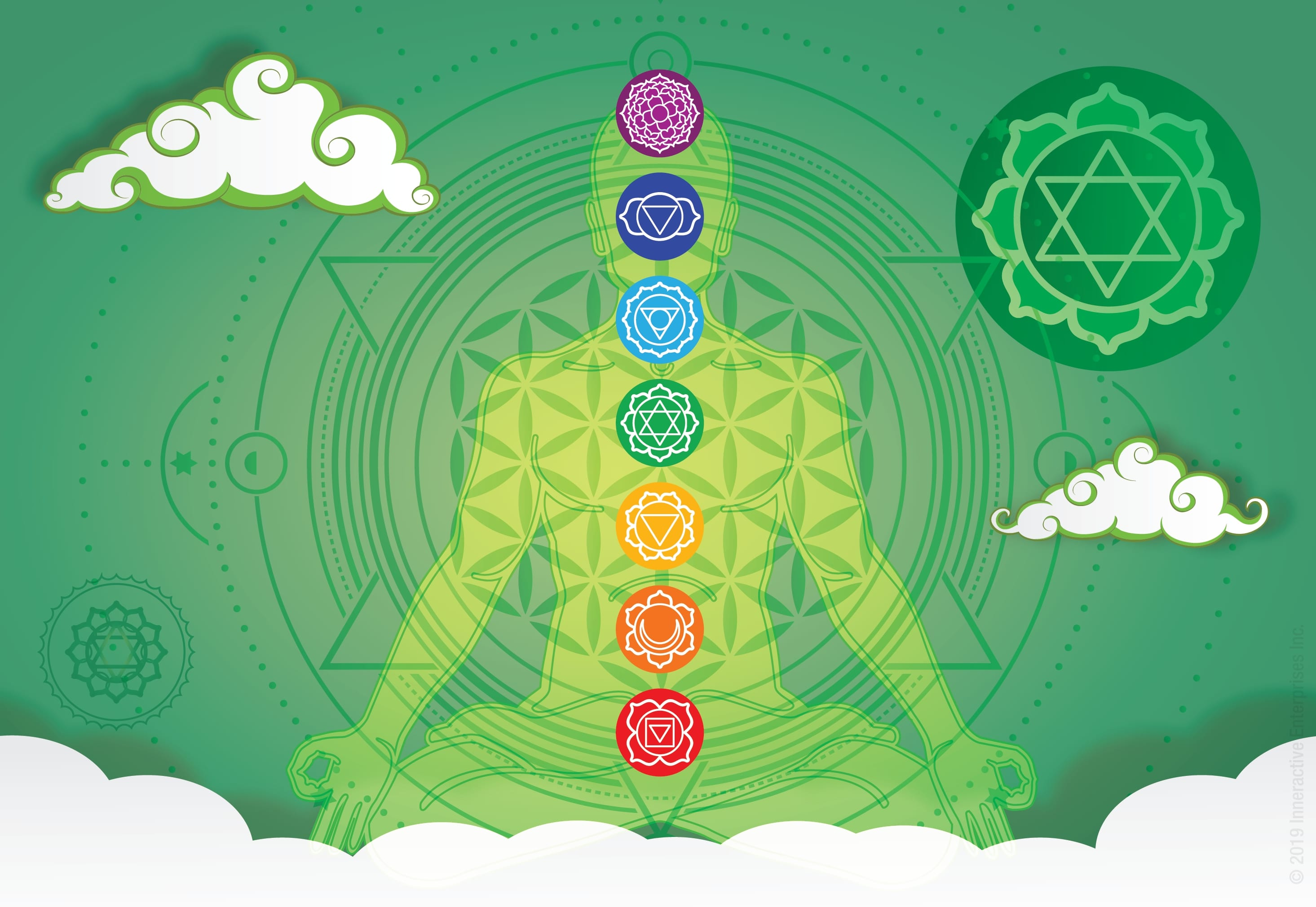 Chakra Heart Symbol Illustration-01