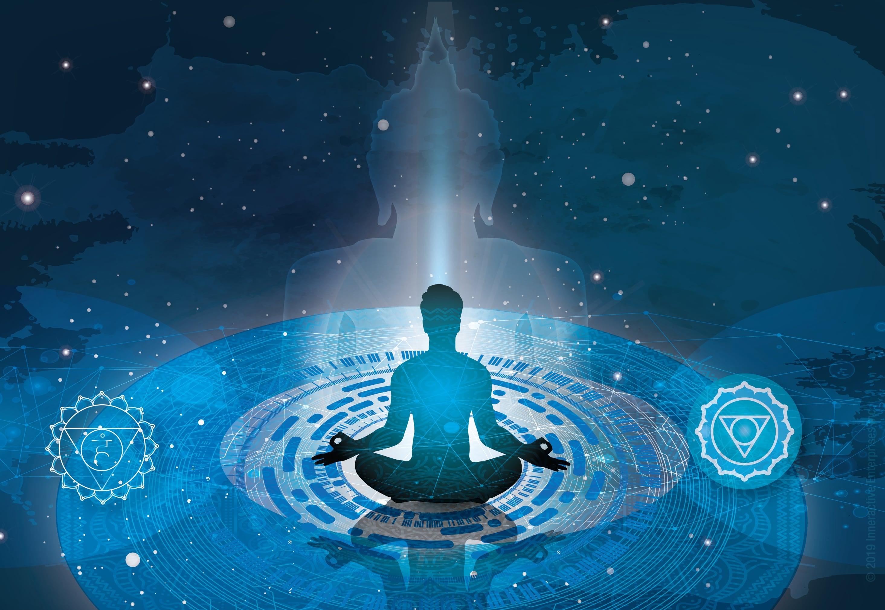 Throat chakra meditation