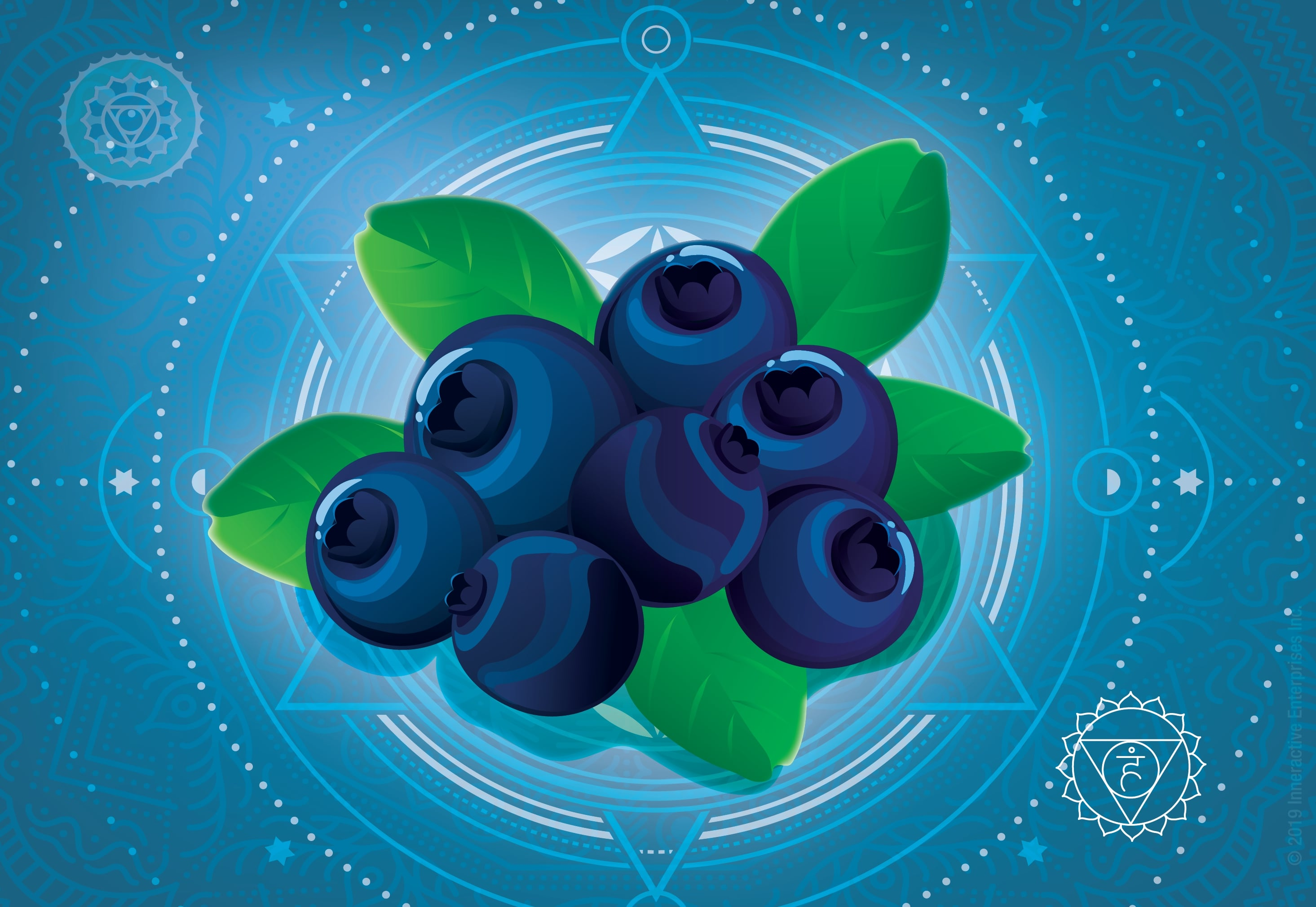 Chakra Throat Healing Illustration Blueberry Revised-01