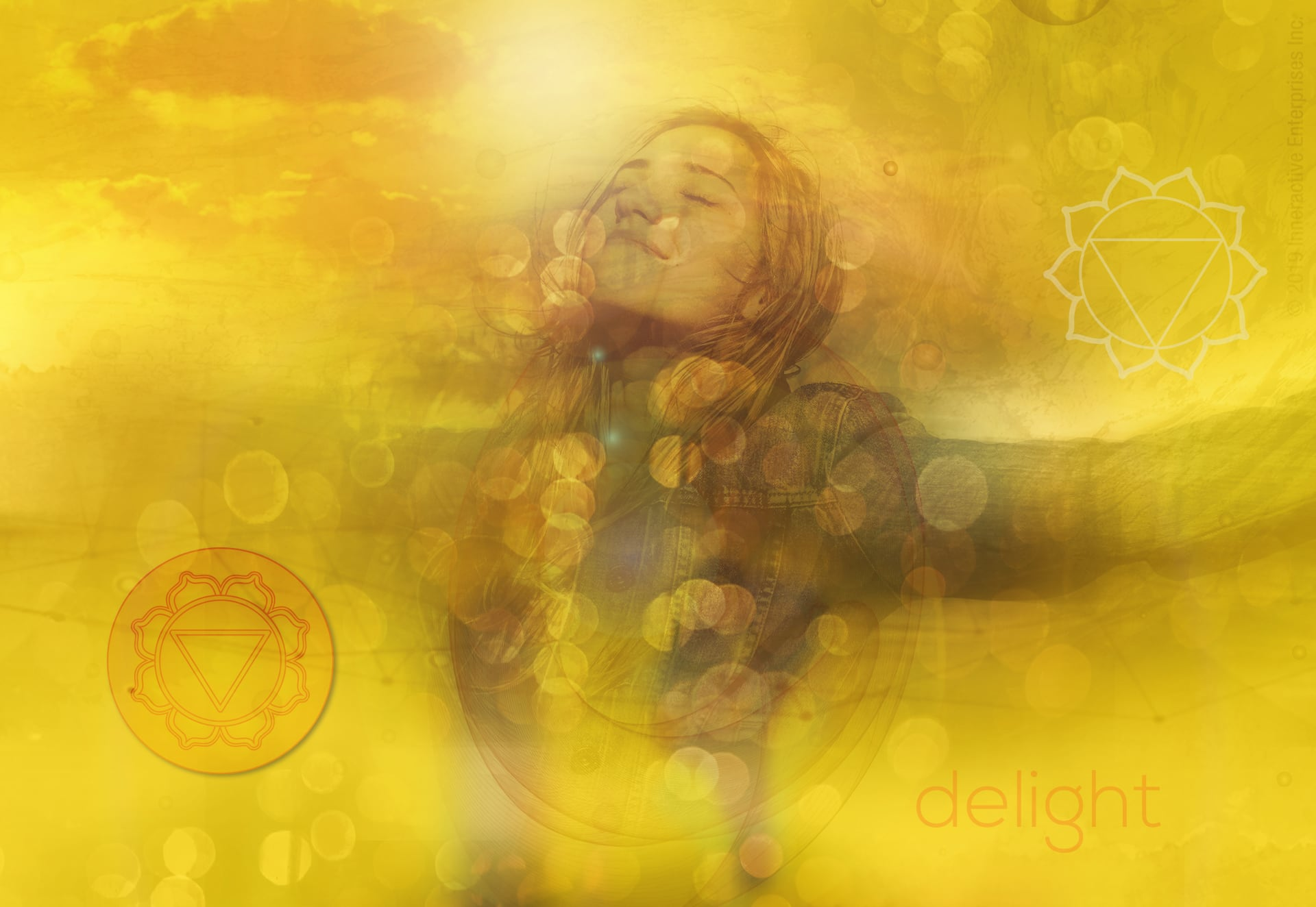 Yellow aura color meaning