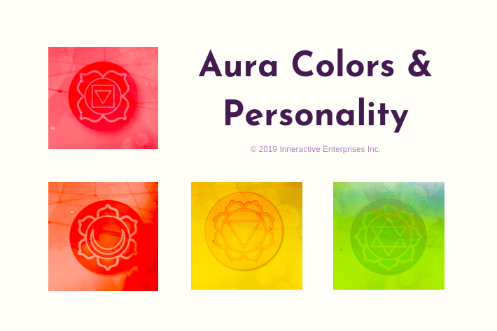Aura colors meaning chart